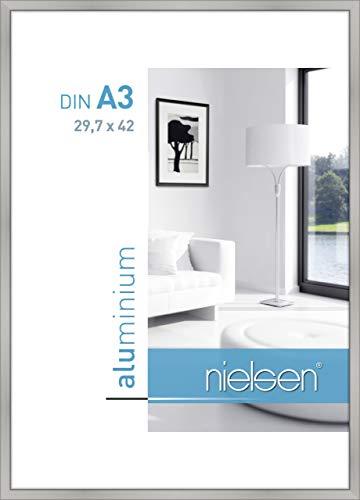 Nielsen Aluminium Bilderrahmen Classic, 29,7x42 cm (A3), Silber Matt
