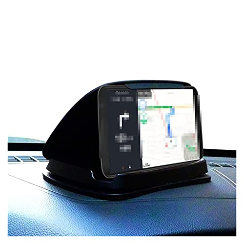 Phoenixset Coche GPS Soporte de Montaje Adecuado para navegación 3-6.8 Pulgadas Tablero de teléfono Tablero de Tablero Antideslizante Soporte de Soporte de Tableta Estable (Color Name : Black)