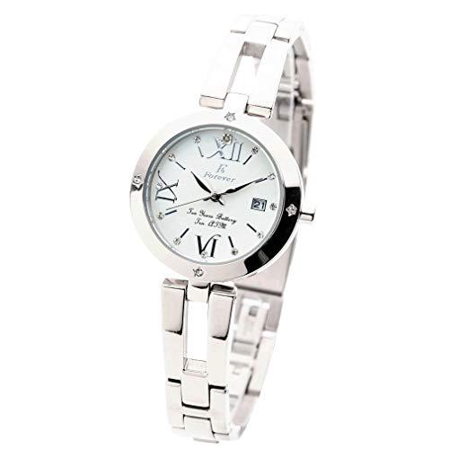 限定モデル 【ベルト調整簡単! 工具なしでできます】 レディース腕時計 10気圧防水 10年電池ムーブ搭載 「日本製ムーブメント」 【プレゼントに最適】 初恋ロスタイム FL1211-1R(ホワイト/ローマ)