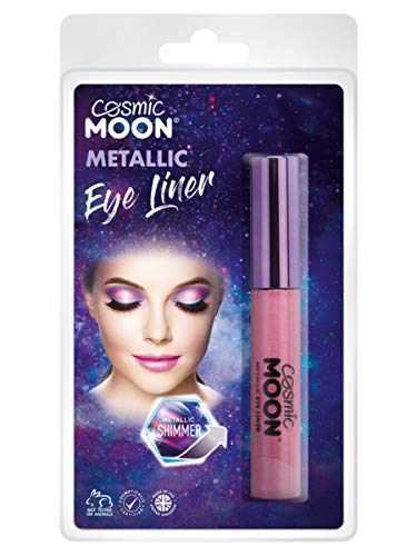 Smiffys Cosmic Moon Metallic Eye Liner Pink
