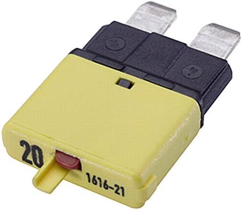 Hella 8js 174 320 021 Sicherungsautomat 10a 32v Rot Thermisch Auto