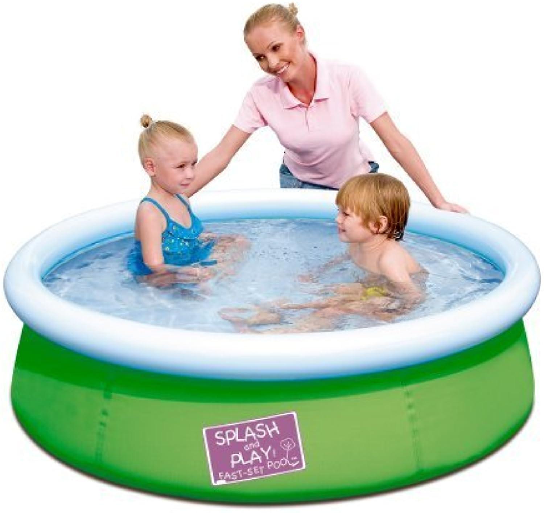 Splash & Play 5' My First Fast Set Pool, Grün by Splash & Play