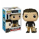 Pop Friends of Six Friends Ross Geller # 262 Figura De Acción De Vinilo De Juguete 10Cm, Colección De Juguetes De PVC