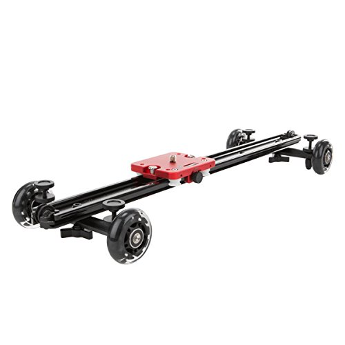 Kamerar SLD-230/W Mark II Slider-Dolly 60 cm (Carrito para cámaras réflex Digitales, cámaras de vídeo)