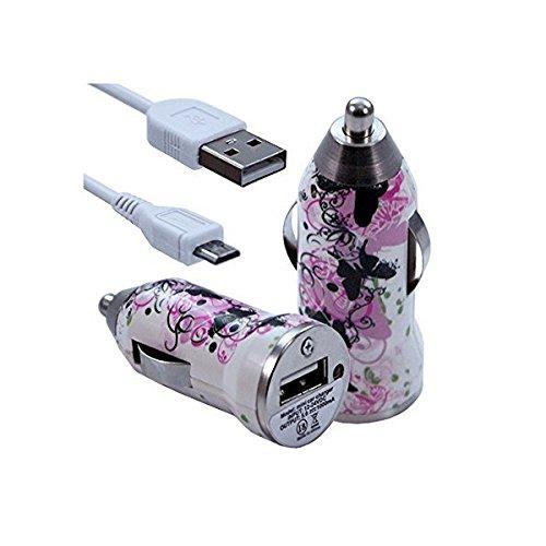 Seluxion-Cargador de coche, USB CV14 para Sony Xperia Z5 Premium