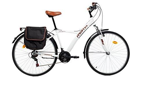 Moma Bikes Hybrid 28 bln, Weiß, Einheitsgröße