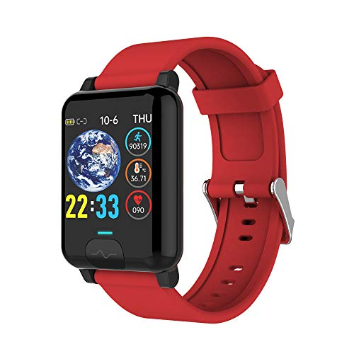 GKPLY Reloj Inteligente De Salud Y Estado Físico, Pulsera De Seguimiento De Actividad, Impermeable, Cuerpo, Frecuencia Cardíaca, Presión Arterial, Médico, Detección De Sueño