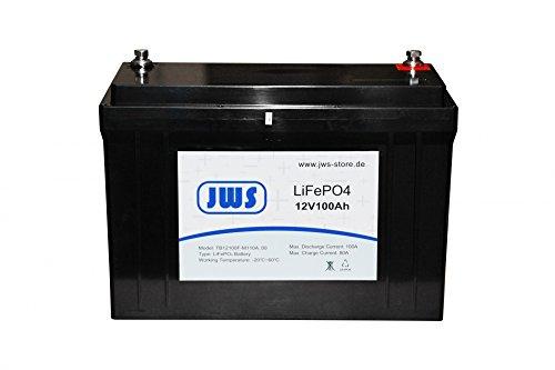 Lithium Batterie Solar Batterie 100Ah 12V LiFePO4 Battery