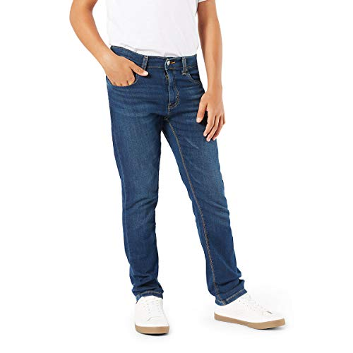 Signature by Levi Strauss & Co. Gold Label Big Boys' Skinny Fit Jeans, Calavera, 18