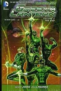 GREEN LANTERN:THE END - VOLUME 3 DC NEW 52 HARDCOVER GRAPHIC NOVEL