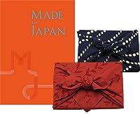 CONCENT・【風呂敷包み】made in Japan メイドインジャパン カタログギフト〔MJ16コース〕・風呂敷色・赤【リーブス】
