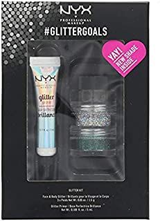 NYX PROFESSIONAL MAKEUP Glitter for Face & Body Goals Kit No. 1
