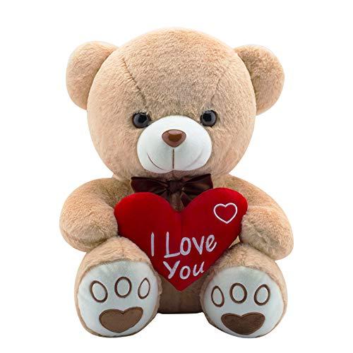 AIXINI Plush Love Stuffed Bear 17.3…