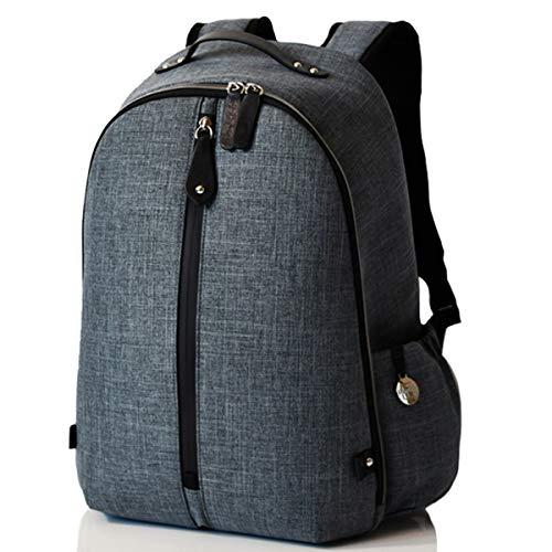 PacaPod Picos Pack Schiefer-Designer Baby Wickeltasche – Unisex Luxus Grau Rucksack 3-in-1 Organisationssystem
