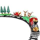 Ckssyao Juego De Vías De Tren De Navidad - Juguete De Tren...