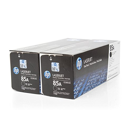 Set Toner cartridge Original HP 2 units Black CE285AD / 85A for HP LaserJet Pro M 1132 MFP