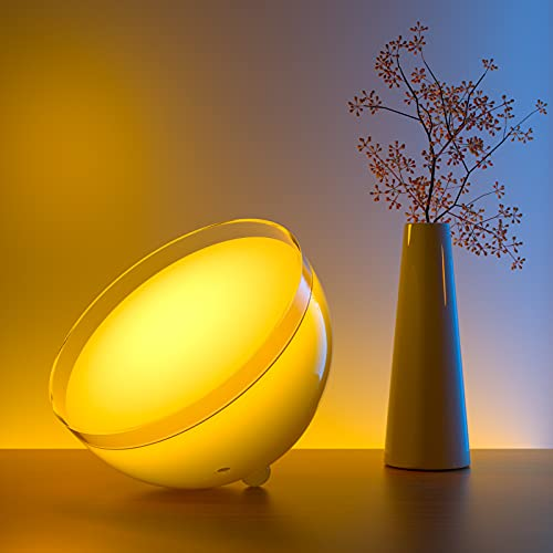 Govee Ambient Portable Smart Light, LED Dimmable Bluetooth Table Lamp