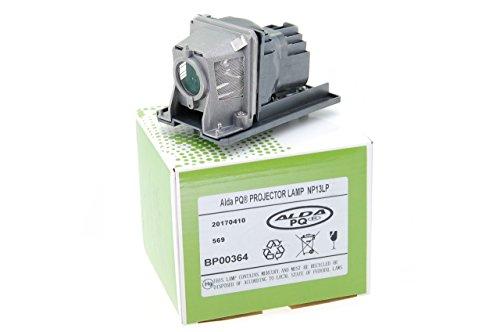 Alda PQ-Premium, Lámpara de proyector para NEC V260X Proyectores, lámpara con Carcasa