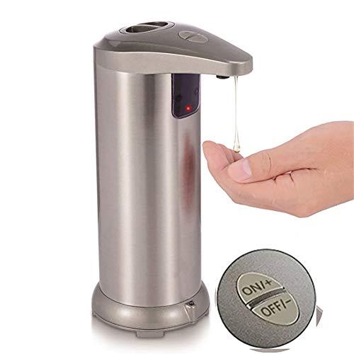 liuxiao Automatische Zeep Dispenser Pomp Infrarood Sensing RVS Vloeibare Zeep Houder Shampoo Dispenser Badkamer Vloeibare Schuim Pomp