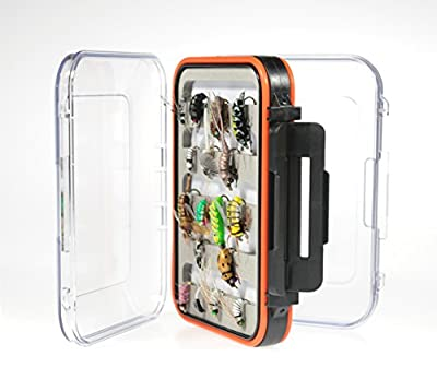 Kingfisher Deluxe Two Sided Waterproof Fly Box