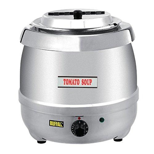 Buffalo Sopa Hervidor de agua 10L de acero inoxidable comercial eléctrico...