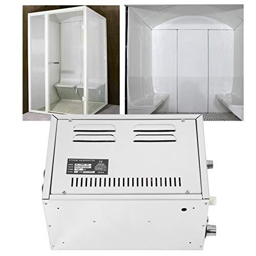 Zunate Generador de Vapor, Equipo de Sala de Vapor con Motor de 3KW, descalcificación automática, ruptura de Caja Impermeable, Sistema de Sala de Vapor para el hogar