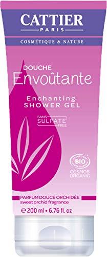 CATTIER Gel douche sans sulfates - Douche envoutante (douce orchidée) - 200 ml