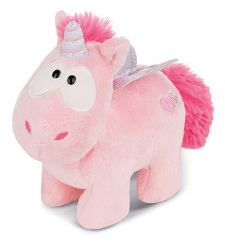 Nici 44363 Pink Kuscheltier Einhorn Harmony 13cm, Theodor & Friends