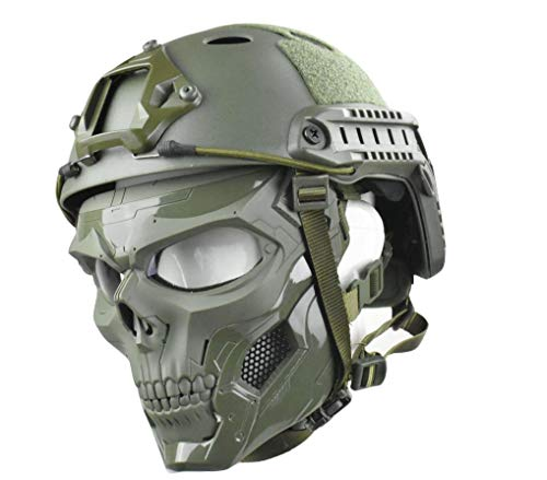 JFFCESTORE Tactical Mask and Fast...