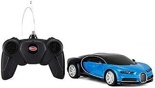 1/24 Scale Bugatti Chiron Radio Remote Control Model Car R/C Licensed Product Toy Car RC (Blue/Black)