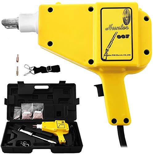 Mophorn Spot Welder 1600A Kit de Soudage par Points Spotter avec Boîtier Soudeuse de Goujons pour Dispositif de Soudage par Points 220V