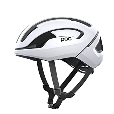 POC, Omne Air Spin Bike Helmet for Commuters and Road Cycling, Lightweight, Breathable and Adjustable, Hydrogen White, Medium