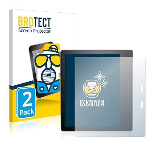 2X BROTECT Matt Displayschutz Schutzfolie für Amazon Kindle Oasis 2019 (matt - entspiegelt, Kratzfest, schmutzabweisend)