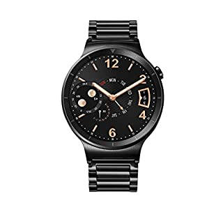 Huawei Watch Black Stainless Steel with Black Stainless Steel Link Band (U.S. Warranty) (B013LKLI9C) | Amazon price tracker / tracking, Amazon price history charts, Amazon price watches, Amazon price drop alerts