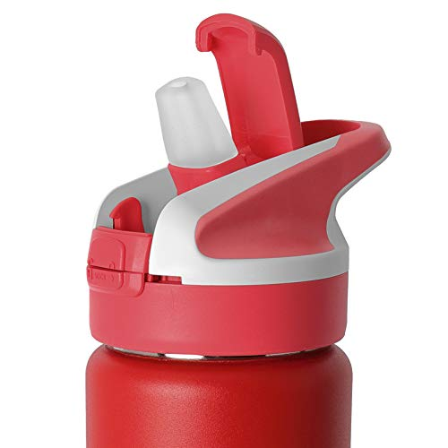 PracticFood Tapón de Recambio Laken para Botellas de Boca Ancha Tipo Summit, Jannu, Classic o Tritan. con Apertura Automática y Cierre de Seguridad. Color