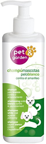 Flower 40599 Shampooing pour Animaux, 400 ML, Blanc