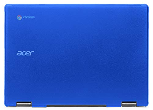 """mCover - Carcasa rígida Solo para Acer Chromebook 11.6"""" Spin 311 / C721 / Spin R721 - Azul (no para Otro Modelo)"""