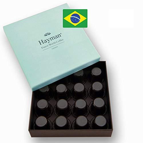 Brasilianischer Kaffeesieger des Cup of Excellence®** Wettbewerb - Frisch geröstet und in Kapseln, die mit Nespresso®* Original Line-Maschinen kompatibel sind - Elegante Schachtel mit 16 Kaffeekapseln