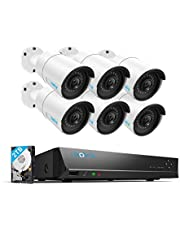 Reolink 4K NVR 5MP 8CH PoE CCTV-beveiligingscamerasysteem