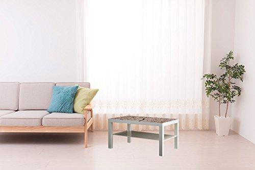 Mesa IKEA Lack Personalizada Tierra Seca Vinilo Auto Adhesivo | Medidas 1,18...
