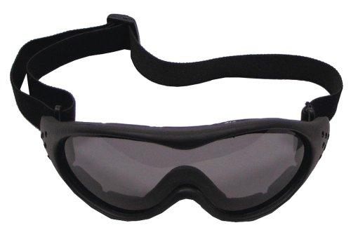 lunettes biker run, noir