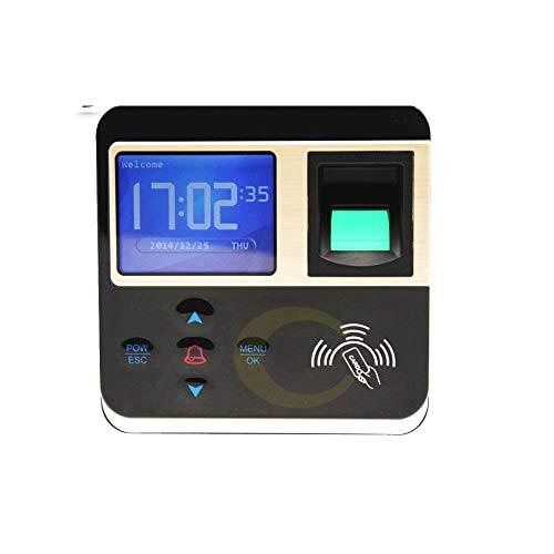Zeitmaschine Fingerabdruck-Anwesenheits-Maschine Biometrische Elektronisches Türschloss RFID-Kartenleser Scanning System Für Büro, Schule