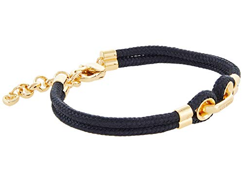 Kate Spade New York Know The Ropes Cord Bracelet Black One Size