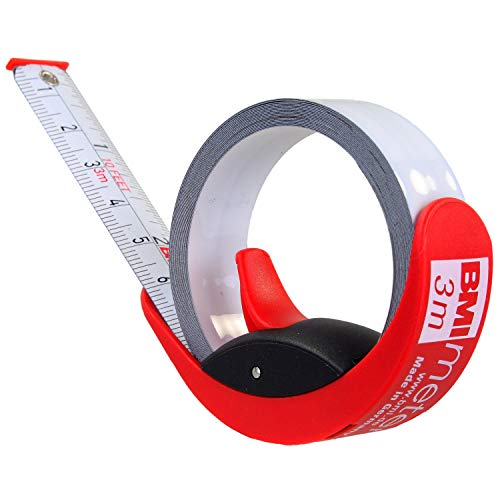 【BMI/ビーエムアイ】ポケットメジャーMeter3mドイツ製コンパクト防水耐摩耗錆防止機能付き…(3m)