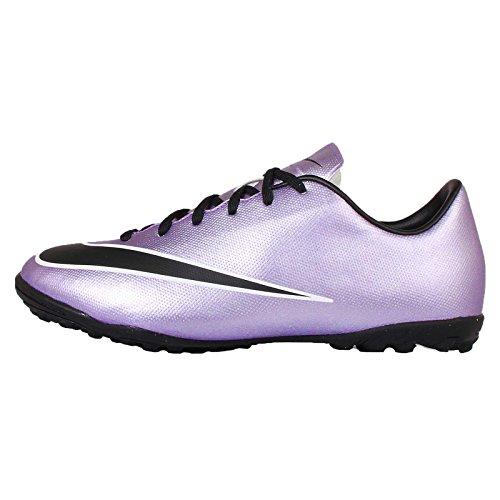 Nike Nike Jr Mercurial Victory V Tf Fußballschuhe, Silber (Urbn Lilac/Blk-Brght MNG-White 580), 36 EU