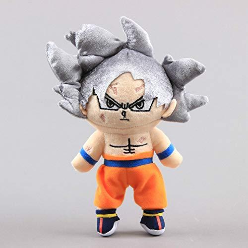 FENGHU Plüschtiere Dragon Dolls 20-30cm Dragon Ball Goku Plüschtier Puppe Dragon Ball Goku Kakarotto Majin Buu Piccolo Vegeta Super Saiyajin Plüschpuppe