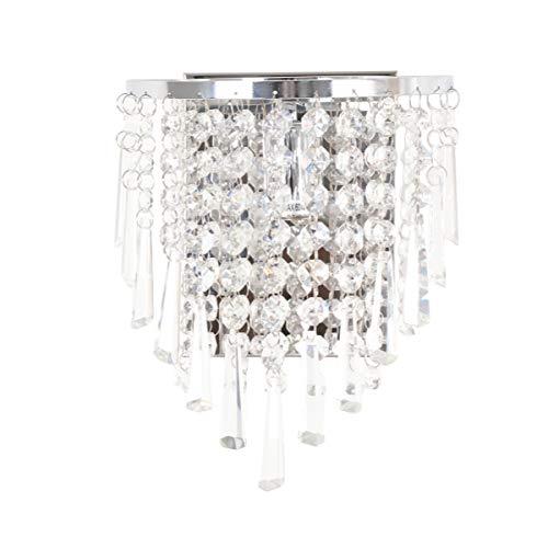 ledmomo applique in cristallo Lampada da parete per decorazione a la casa