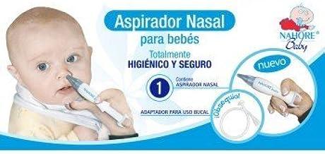 Nahore Baby Aspirador Nasal Bebe: Amazon.es: Salud y cuidado personal
