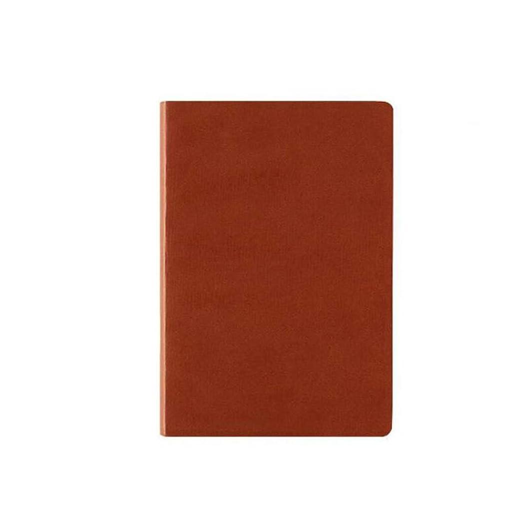 ソフトカバーブレットノートドットドットドットジャーナルA5,Brown