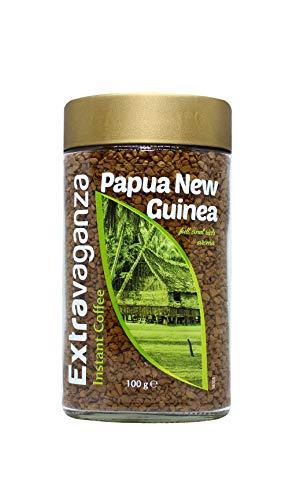 Extravaganza - Café soluble Papúa Nueva Guinea, 100 g (lote de 6)